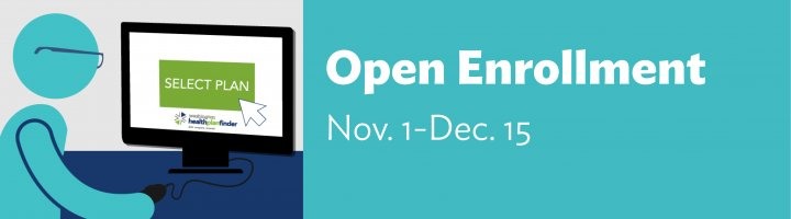 Open enrollment Nov. 1-Dec. 15
